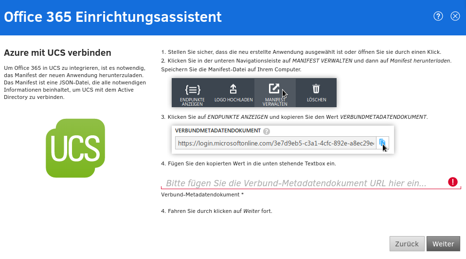 Office 365 Einrichtungsassistent