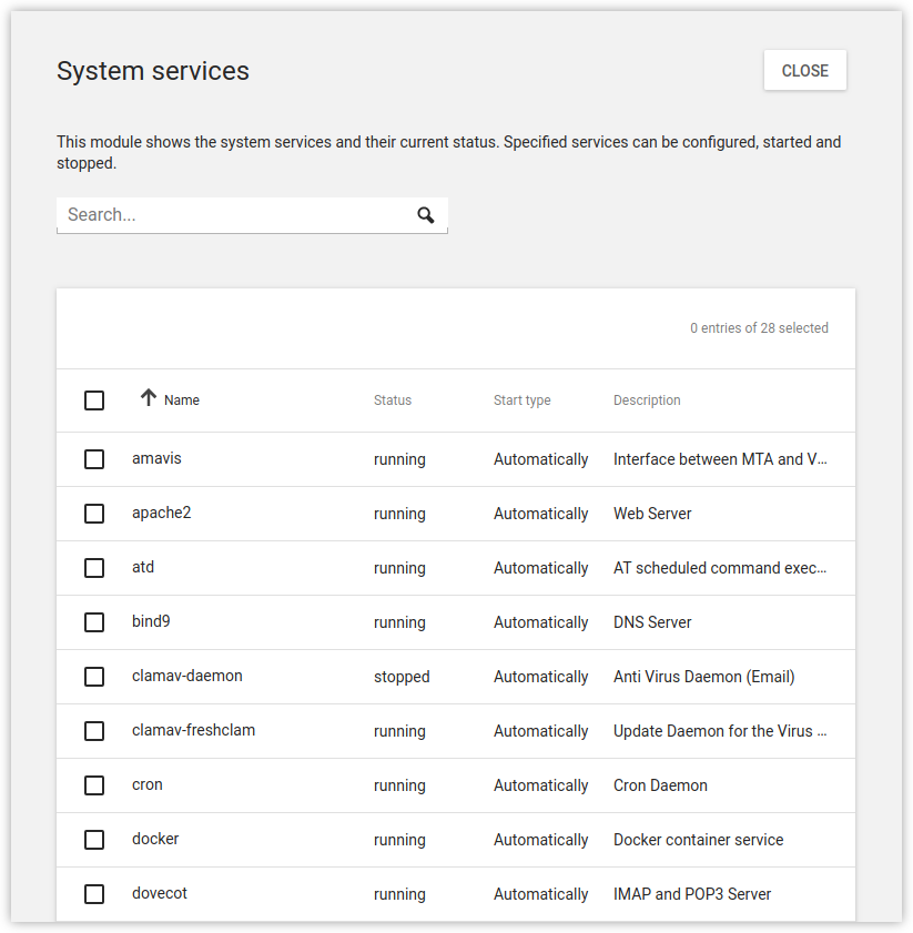 Overview of system services